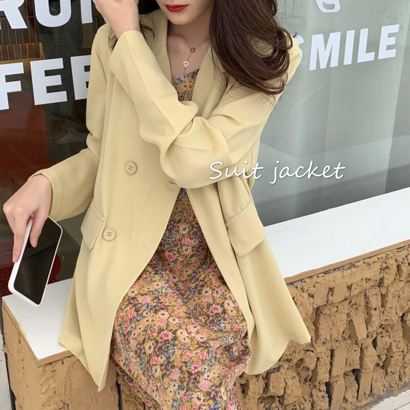 2  Summer New Casual thin Blazer Jacket Women  Long Sleeve Work Suit Coat Office Lady Solid Slim Blazers ka920