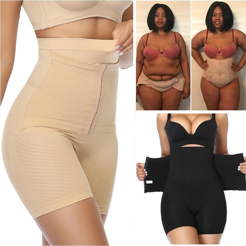 Women Shapewear Tummy Control Panties Slimming Underwear Waist Trainer Body Shaper Butt Lifter Modeling Strap High Waist Girdle