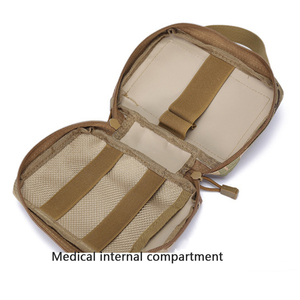 Image 4 - First Aid kit Tactical Outdoor Camping Medical Portable Military Hike  Medicine Package Emergency Oxford Cloth Waist Pack