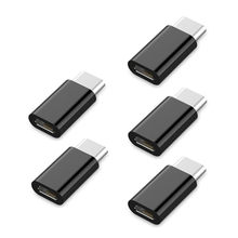 5pc USB-C typu C do mi cro USB do ładowania danych Adapter do Samsunga Note9 USB-C, aby mi cro Adapter USB dla xiaomi mi x3 mi mi x 3 mi 8(China)