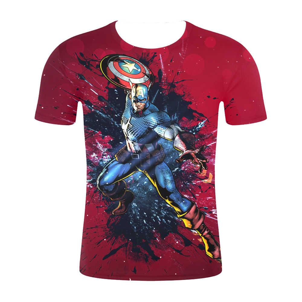 """2019 חדש עיצוב t חולצת גברים/נשים קצר שרוול Harajuku סגנון חולצת טי חולצות נוקמי סוף המשחק 3D הדפסת חולצות ארה""""ב גודל"""