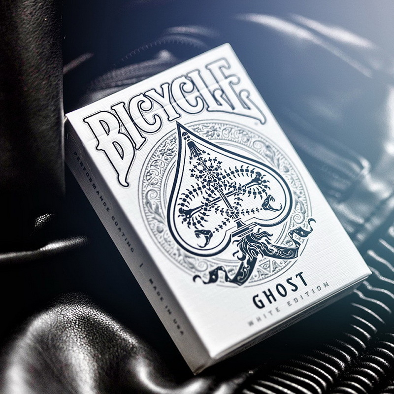 1 Deck Bicycle Cards Ghost Deck Legacy Edition Playing Cards Regular Bicycle Deck Rider Back Card Magic Trick Magic Props