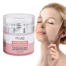 Face Whitening Cream Moisturizing Hydrating Dilute Pigment Brighten Skin Tone Facial Lightening