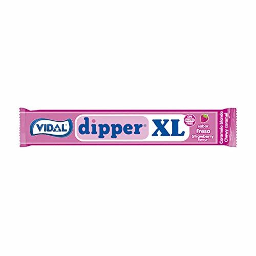 Dipper XL - Strawberry Chewable Candy, 100 Units