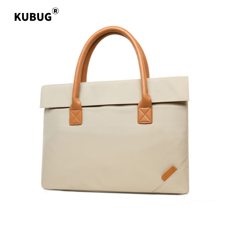 KUBUG New Cotton Men 14 inch Computer Handbag women Notebook Tablet Laptop Briefcase