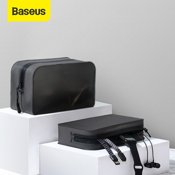 Baseus Universal TPU Phone Pouch for iPhone Xs Max XR Xs Portable Phone Bag forhuawei P30 Pro Samsung S10 S9 Phone Accessories
