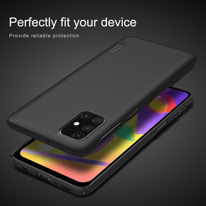 Image 5 - Custodia Nillkin per Samsung Galaxy M31S M21s M51 M31 Cover Super glassata Shield Hard PC Matte Protector Cover posteriore per Samsung F41