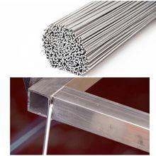 Fio de alumínio 500x2.0mm 19.68x0.079 da haste da soldadura da baixa temperatura do fio cored da magnésia