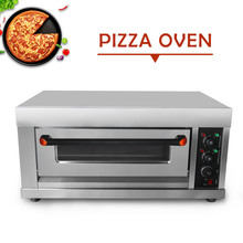 ITOP 3200W Pizza Oven Cake Roasted Chicken Stainless Steel Electric Single Kitchen Baking Machine Ship From Germany