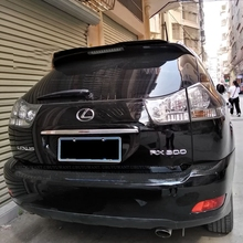 Rear Roof Lip Spoiler For lexus rx rx300 rx350 2007-2011 Hatchback Spoiler ABS Plastic Gloosy Black Car Tail Wing Decoration