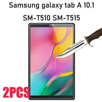 Закаленное стекло для защиты экрана, 2 шт., для Samsung Galaxy Tab A 10,1, 2019, T510, T515, SM-T510 10,5, SM-T515 T590Scratch