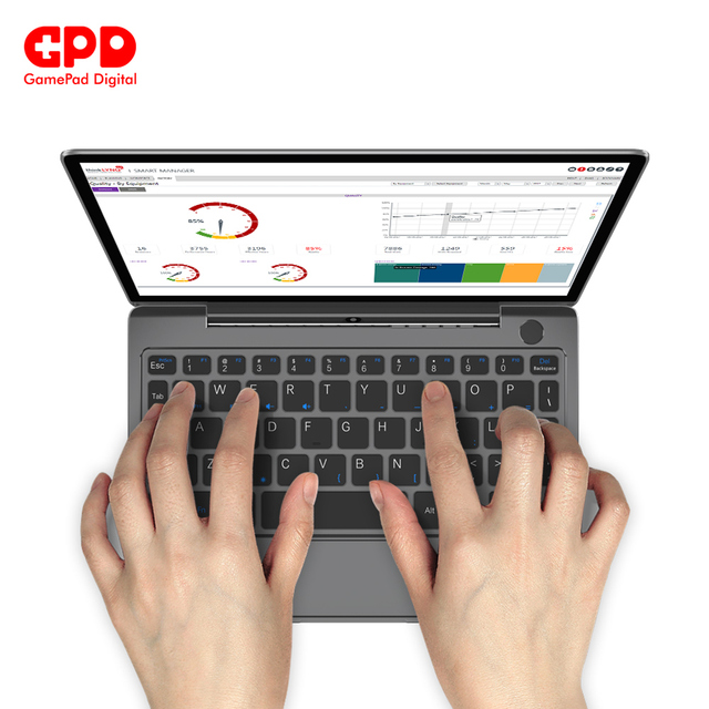 GPD P2 Max laptops with windows 8.9 Inch notebook Inter Core m3-8100y 16GB 512GB Mini Laptop notebook 6