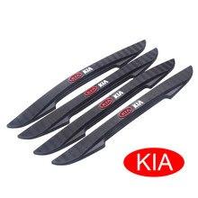 4 pçs porta do carro borda guarda tira scratch protetor anti-colisão adesivos para kia ceed rio sportage k3 k4 k5 sorento cerato forte