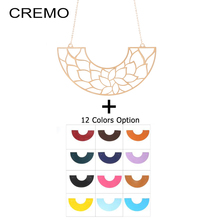 Cremo Statement Necklaces Jewelry for Women Reversible Leather Pendant Charm & Pendants Necklace
