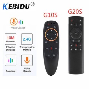 Image 1 - Kebidu G20S/G10S 2.4G Wireless Air Mouse Gyroscope IR Learning Smart Voice Gyro Remote Control For X96 H96 MAX Android Box