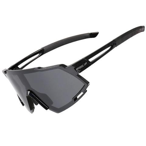 Óculos de Bicicleta Esportes ao ar Óculos de Sol à Prova de Vento Polarizado Ciclismo Livre Estrada Óculos Unisex Bicicleta Eyewear Mtb