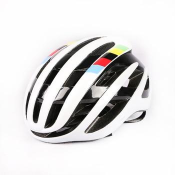 2020 novo ar ciclismo capacete de corrida da bicicleta estrada aerodinâmica vento capacete dos homens esportes aero capacete da bicicleta casco 1