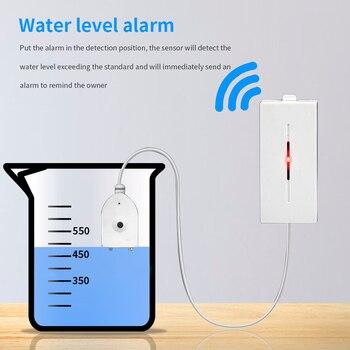 eWelink Water Level Leakage Water Leak Sensor Detector Alarm Overflow Security System works with SONOFF Bridge Smart Home