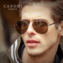 CAPONI солнцезащитные очки ночного видения, мужские и женские, умные, меняющие цвет, желтые линзы, очки, поляризационные, очки пилота, UV400, BSYS3109