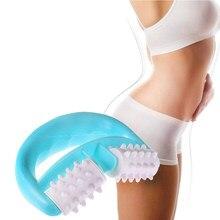 D tipo controle de gordura rolo massageador celulite perna abdômen pescoço nádegas rápido anti celulite face lift ferramentas rolo dropshipping