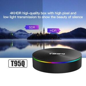 Image 5 - TV BOX T95Q, Android 9,0, 4K, dispositivo de TV inteligente, Android 2,4, 4GB de RAM, 32GB 64GB de ROM, Amlogic S905X3, wi fi 3,0 y 5G, Bluetooth 265, USB H.