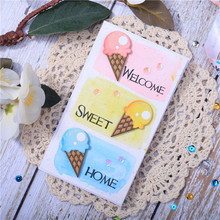 InLoveArtsice Cream Dies Dessert Metal Cutting Dies for Card Making Scrapbooking Dies Embossing Cuts Stencil Craft yaminsannio boots dies scrapbooking metal cutting new 2019 shoes die cuts for card making cloud craft dies embossing