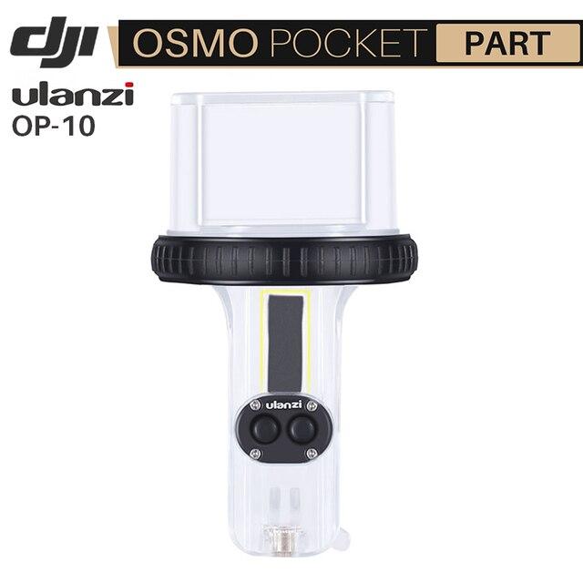 Ulanzi OA 10 60M Depth Diving Housing Case for Dji Osmo Pocket Waterproof Shell Plastic Case Set Up