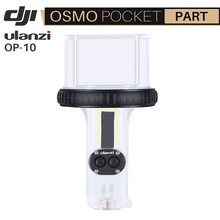 Ulanzi OA 10 60m profundidade mergulho habitação caso para dji osmo bolso à prova dwaterproof água escudo caso de plástico configurar