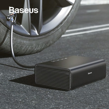 Baseus Intelligent Car Air Compressor Tire Inflatable Pump 12V Portable Auto Tyre Inflator for Car Tires portable air compressor car tire inflator tool black red