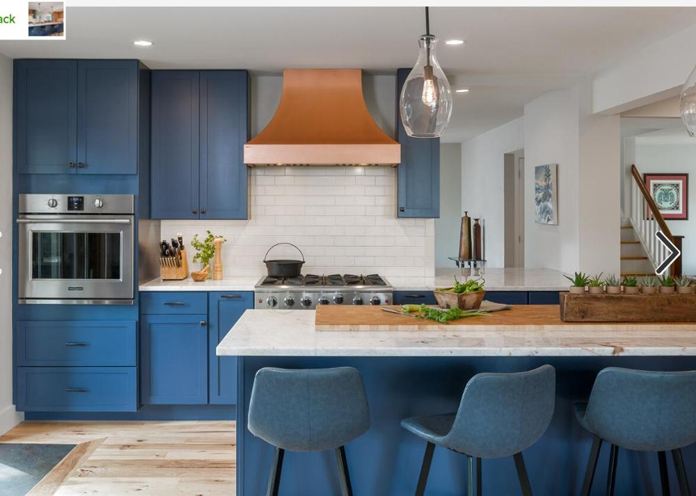 New Design Solid Wood Kitchen Cabinets Blue Solid Timber Door S2005 Kitchen Cabinets Aliexpress