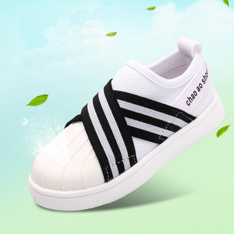 2020 Spring Summer New Children Sports Shoes Baby Boys Girls Shoes Soft Breathable Breathable Casual Shoes Children Shoes