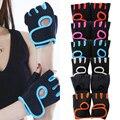 Фсти 1 пара Для мужчин Для женщин тренажерный зал перчатки без пальцев спортивные Фитнес тренировки запястья перчатки с защитой от скольжен...