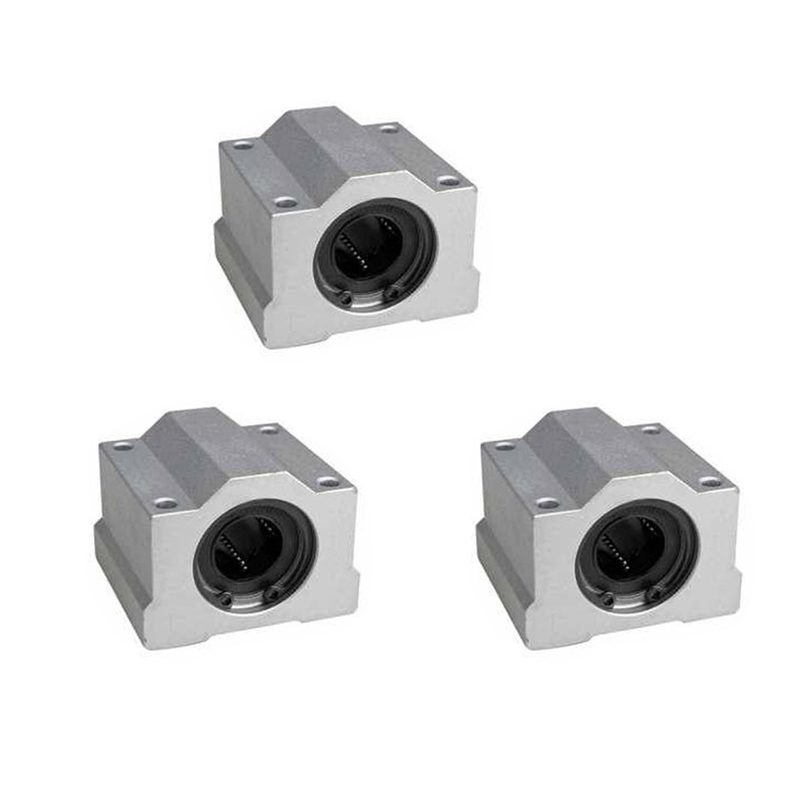 <font><b>4pcs</b></font>/lot <font><b>SC8UU</b></font> SCS8UU SCS6UU SCS10UU SCS12UU SCS16UU SCS20UU SCS60UU 8mm Linear Ball Bearing Block CNC Router 3D printer parts image