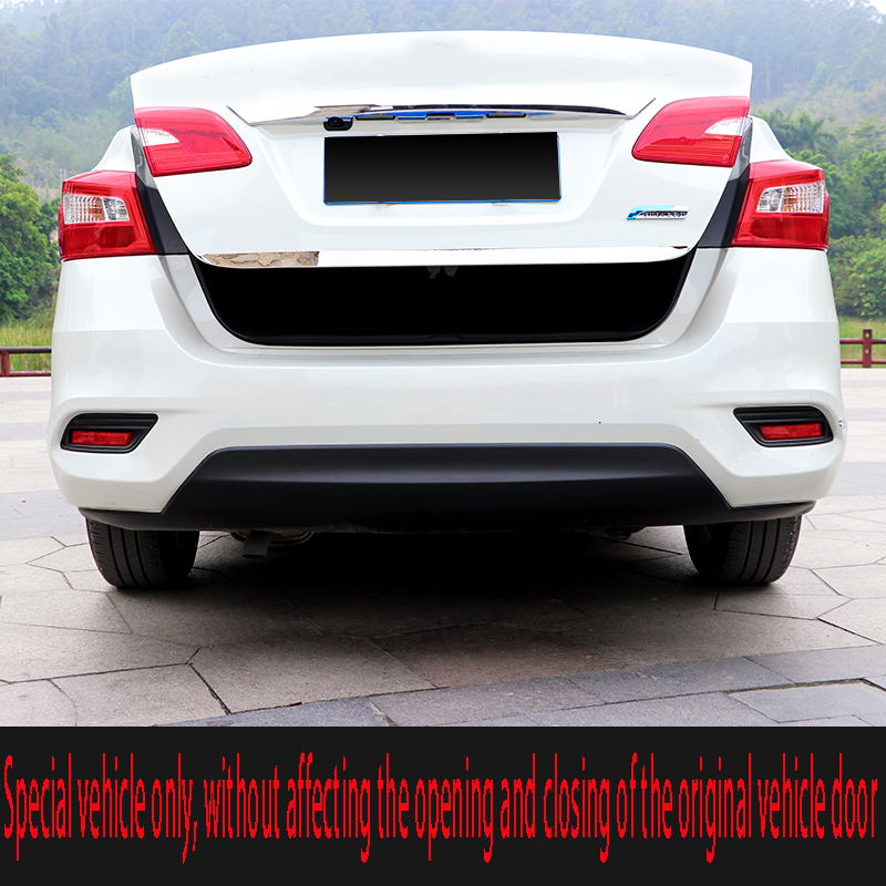2012 to 2019 for Nissan Sylphy tailgate decorative strip classic Xuanyi trunk decorative strip stainless steel decorative strip