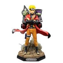 NEW hot 22cm naruto GK Uzumaki Naruto Ootutuki Hagoromo Figurine Sage Mode boruto Shippuden Action Figure B19