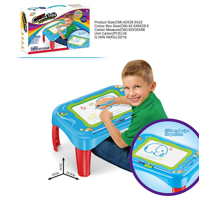 Hot Selling Children'S Educational Study Table Magnetic Drawing Board WordPad Learning Cognitive Baby ENLIGHTEN Education
