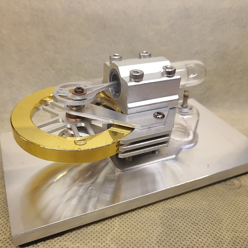 Air-cooling Engines Stirling Engine Model Steam Machine Popularization Of Science Experimental Teaching Equipment Birthday Gift