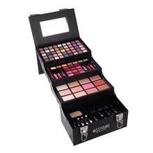 76 Color Makeup Set Box For Women Matte Nude Eyeshadow Lipstick Lip Gloss Eyeliner liner Mascara Blush Foundation With Brush