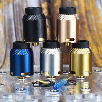 coolvape rda 24mm bf rda stainless steel Single or Dual Coil Rebuildable airflow intake adjustable Tank rda Atomizer