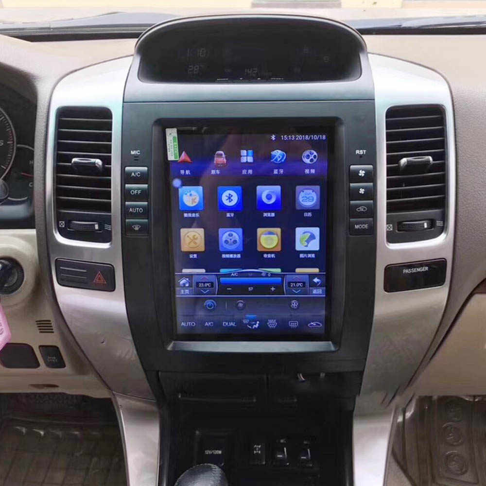 Mobil Multimedia Player Stereo GPS DVD Radio Navigasi Navi Android Layar Monitor untuk Lexus GX 470 GX470 J120 2002 ~ 2009