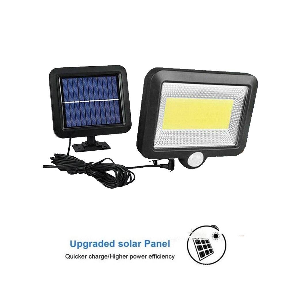 Solar Lights Outdoor 56/30 LED Waterproof Motion Sensor Security Light Detachable Design Wall Light for Driveway Garden split mo