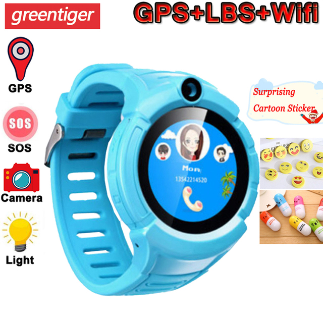 Q360 Kids Smart Watch Camera GPS WiFi Location Smartwatch Children SOS Anti Lost Monitor Tracker Baby Wristband Watch Kids Gifts