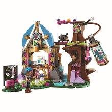 10501 233Pcs Princess Friend Elves Elvendale School of Dragons Model Building Kits  Blocks Brick with 41173