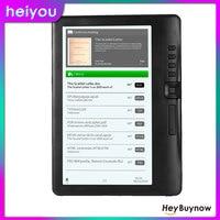 BK7019 E czytnik książek 7 Cal kolorowy wyświetlacz LCD elektroniczna papierowa książka 8GB przenoszenie podświetlenia nauka czytniki wielofunkcyjne 16GB