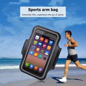 Сумка-нарукавник для мобильного телефона, устойчивый к поту, для занятий спортом на открытом воздухе, ремешок на руку, защитный держатель, ч...