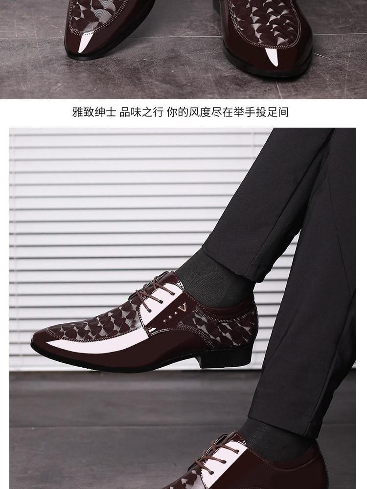 grande 38-48 apartamentos sapatos de vestido casual masculino erf5