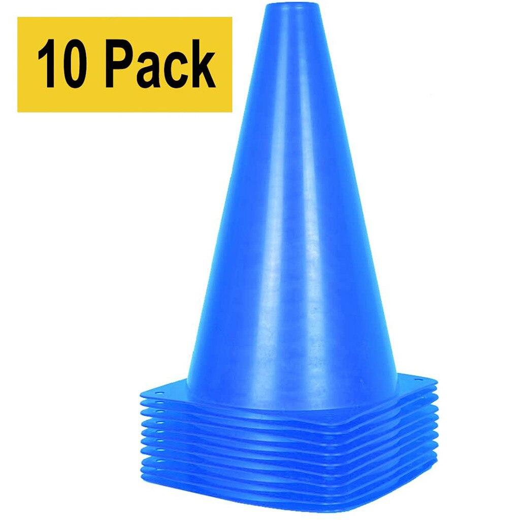 10 шт. пластиковые конусы для спортивных тренировок конус для детей, для взрослых, для дома, для футбольных тренировок, для футбольного барье...