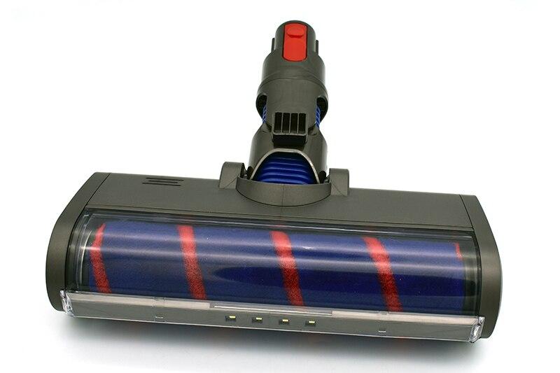 Motorized Floor Brush Head Tool For Dyson V8 V7 V10 V11 Vacuum Cleaner Soft Sweeper Roller Head Floor Brush Replacement