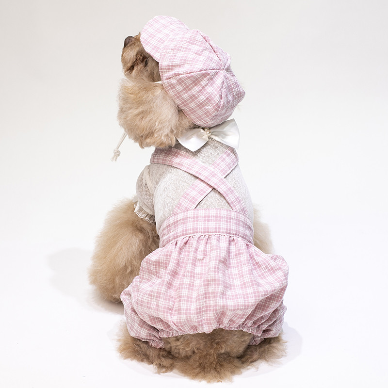 puppy jumpsuit set summer clothes dogs (16)