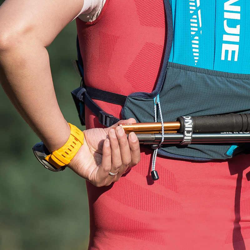AONIJIE C9102 Ultra Weste 5L Trink Rucksack Pack Tasche Weiche Wasser Blase Flasche Set Für Wandern Trail Running Marathon Rennen